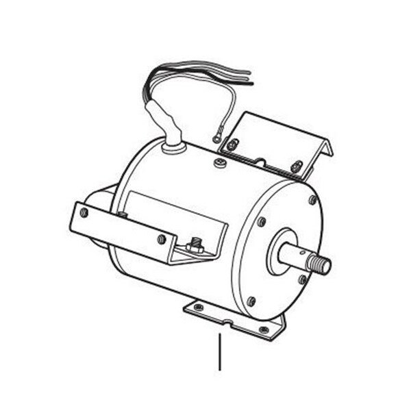 Shop Allegro Industries 9535 12m 12 In Motor For Air Bag Blower
