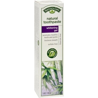 Nature's Gate - Natural Toothpaste Gel Whitening ( 6 - 5 OZ)