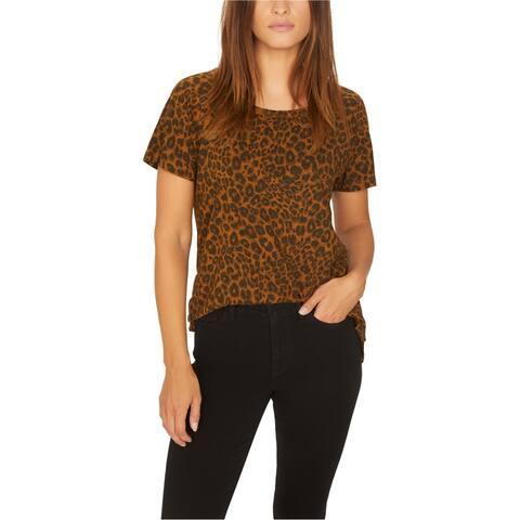 Sanctuary Clothing Womens Leopard Basic T-Shirt