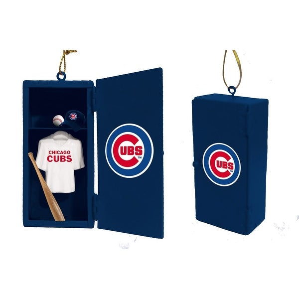 Chicago Cubs Team Locker Ornament