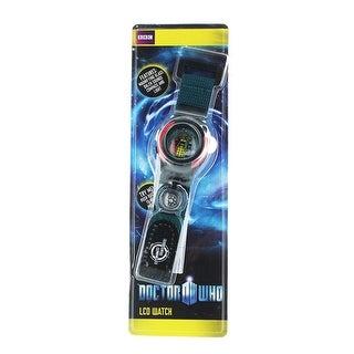 Doctor Who Interchangeable Head LCD Watch