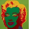 Marilyn Monroe #25 by Andy Warhol Portrait Art Print - Thumbnail 0