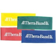 """Thera-Band Exercise Band Loops - 8"""" for the Home and Clinic (Option: Blue)"""