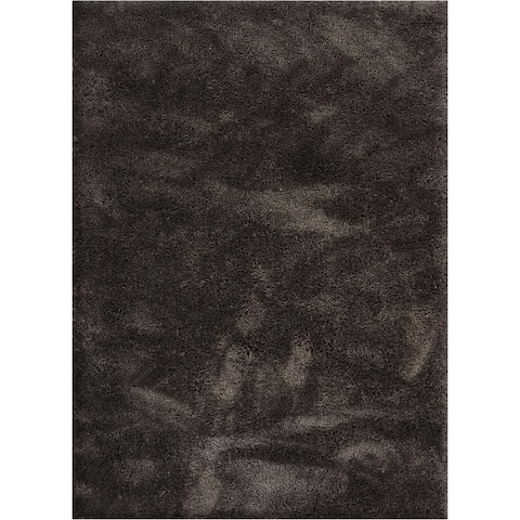 """Well Woven Modern Solid Soft Area Rug - 3'11"""" x 5'3"""" - 3'11"""" x 5'3"""""""