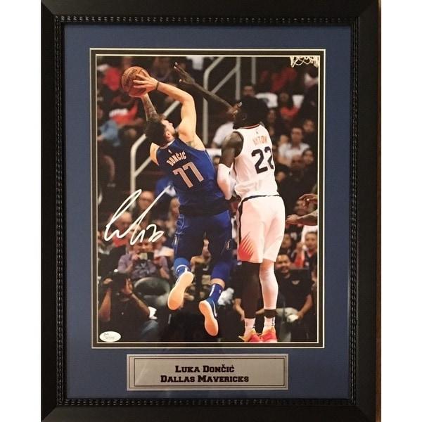 a94e03b8 Shop Luka Doncic Autographed Dallas Mavericks Signed 11x14 Basketball  Framed Photo JSA COA 1 - Free Shipping Today - Overstock - 25762391