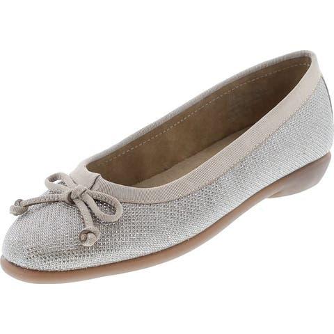 Aerosoles Women's Fast Bet Ballet Flat Shoes - Champagne