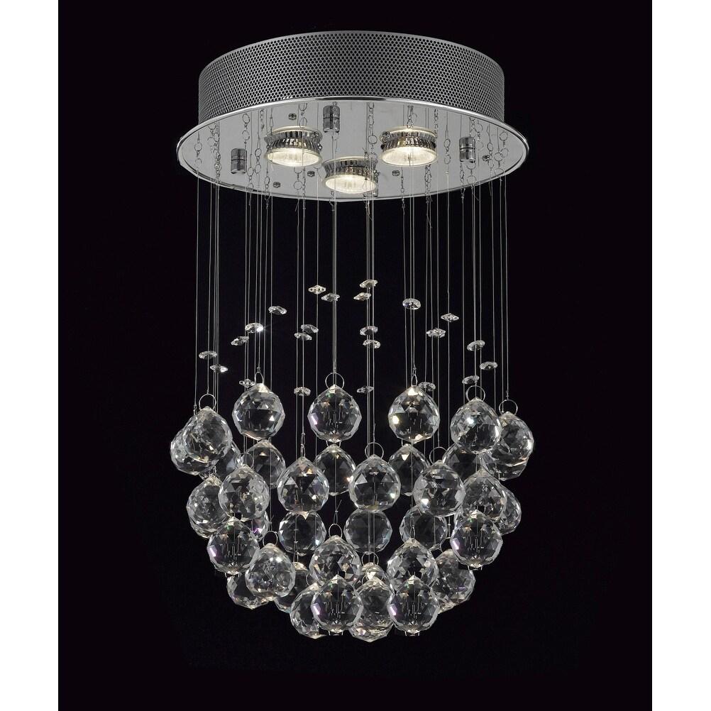 Modern Crystal Ball Chandelier Raindrop
