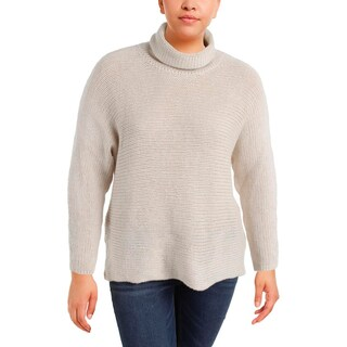 Lauren Ralph Lauren Womens Plus Anatolio Turtleneck Sweater Wool/Cashmere Blend