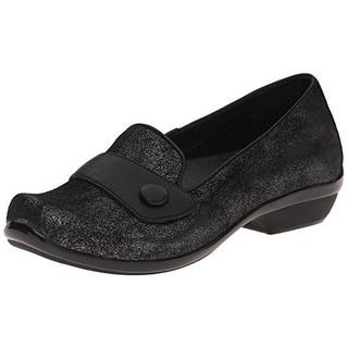 Dansko Womens Olena Suede Distressed Loafers - 38 medium (b,m)