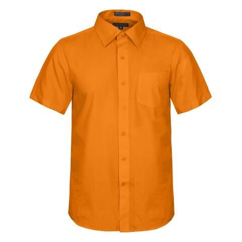 NE PEOPLE Men's Regular Fit Short Sleeve Button Down Dress Shirts
