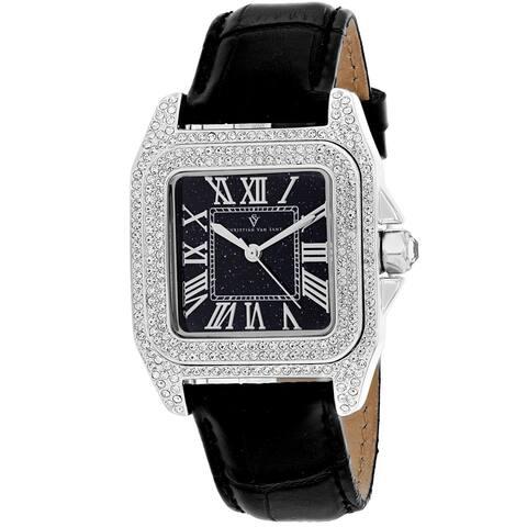 Christian Van Sant Women's Radieuse Black Dial Watch - CV4420 - One Size