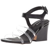 kensie Womens Ebony Open Toe Casual Slingback Sandals - 8