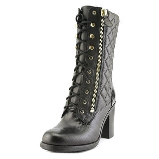 Guess Jacqui   Round Toe Leather  Boot