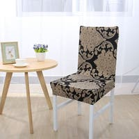 Spandex Stretch Removable Dining Room Chair Cover - 7