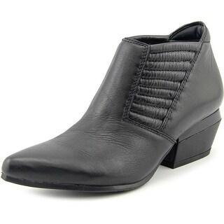 Naya Tezla Women Pointed Toe Leather Bootie