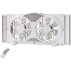 """Homebasix BP2-9A Reversible Window Fan, 9"""""""