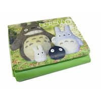 Totoro Wallet Family Picture - Green