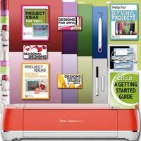 Cricut Explore Air 2 Machine Bundle-Ironon Foil 12X12 In. Pk Weeder Design Guide
