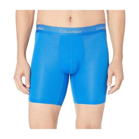 Calvin Klein Mens Light Underwear Briefs, blue, Small