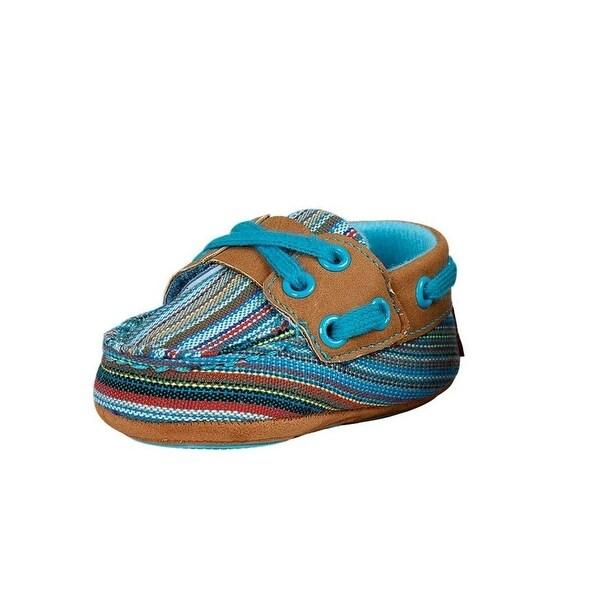 Blazin Roxx Western Shoes Girls Olivia Deck Baby Buckers