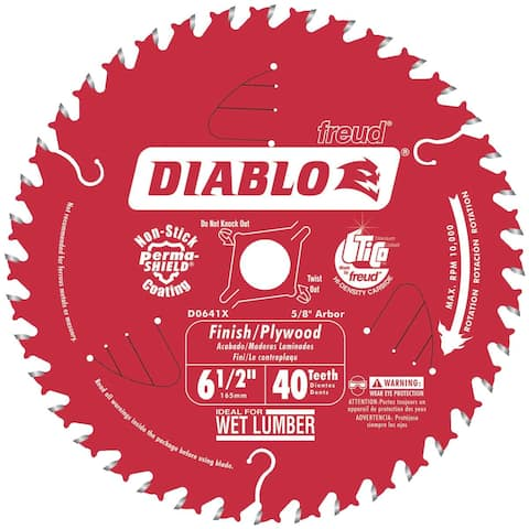 "Freud 6-1/2"" 40T Saw Blade"