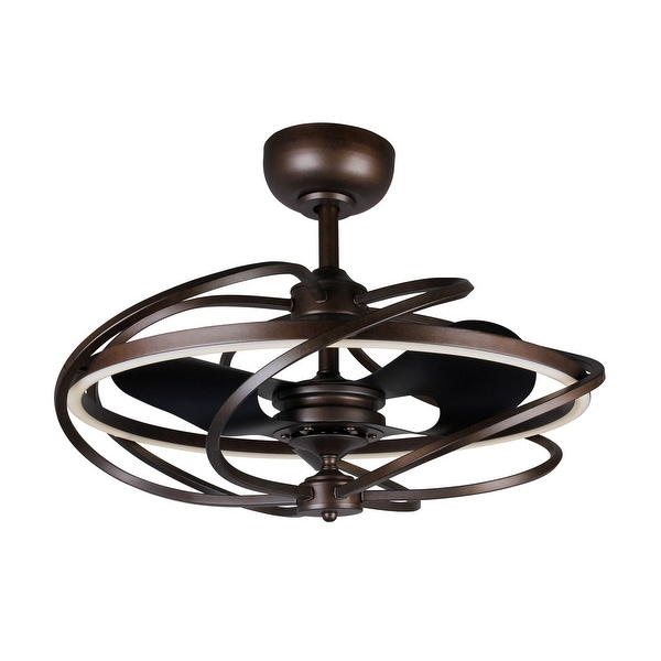High Quality Ceiling Fan With Remote Control Special: Shop 27-inch Reversible 3-Blades Bronze Ceiling Fan With