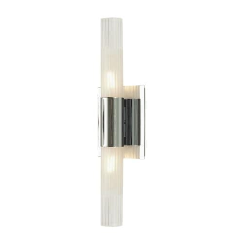 Alico WS852-79 2 Light Wall Sconce with Clear And Frosted Glass Shade from the Regato Duo Collection
