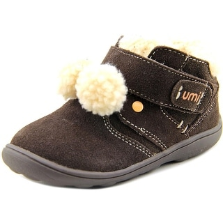 Umi Darena Toddler Round Toe Suede Brown Winter Boot