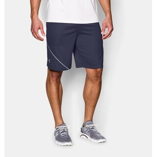 Under Armour Men's Quarter Training Shorts - Navy Blue - Medium
