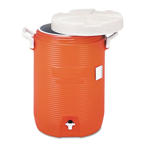 Rubbermaid 1840999 5 Gallon Capacity Portable Cooler - - Orange