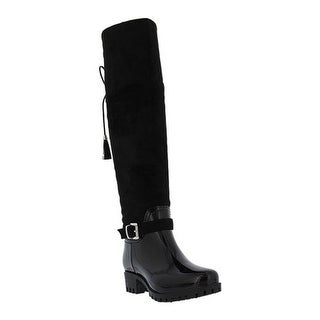 Spring Step Women's Mattie Tall Boot Black Microsuede