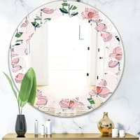 Round Farmhouse Wall Mirror Shop Online At Overstock