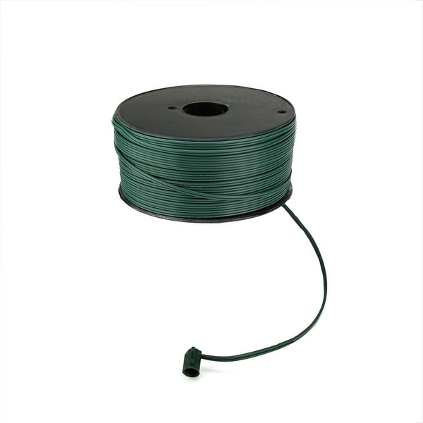 500' Green 18 Gauge C7 Christmas Wire Spool