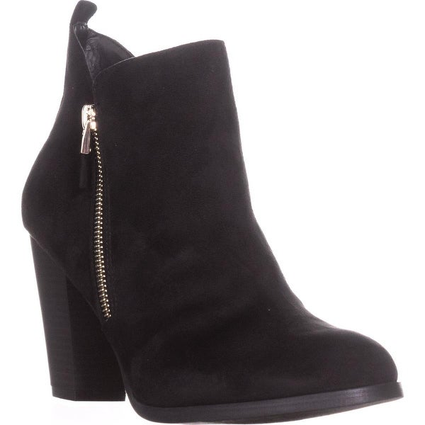 Call It Spring Kokes Double Side-Zip Ankle Booties, Black