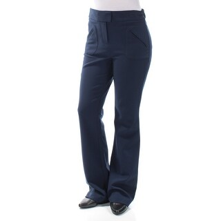 BAR III $70 Womens New 1393 Navy Wear To Work Pants 10 B+B