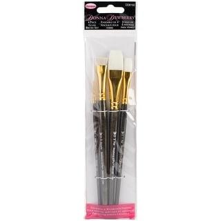 Donna Dewberry Glass Brush Set-4/Pkg