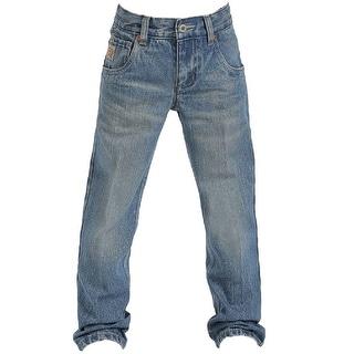 Cinch Western Denim Jeans Boys Tanner Slim Medium Wash MB16941001