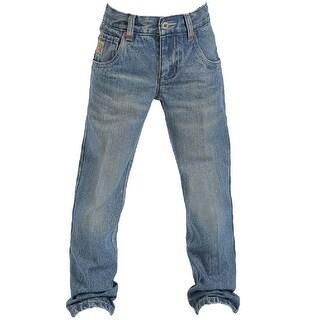 Cinch Western Denim Jeans Boys Tanner Slim Medium Wash
