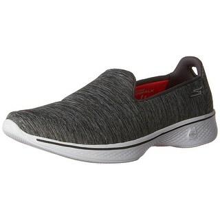 Skechers Performance Womens Go Walk 4 Achiever Walking Shoe Grey/White