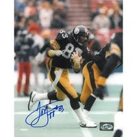 Louis Lipps signed Pittsburgh Steelers 8x10 Photo