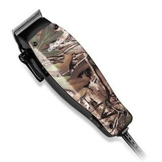 Andis 18665 Green Mc 2 Camo 19-Piece Home Hair Clipper Kit With Magnetic Motor