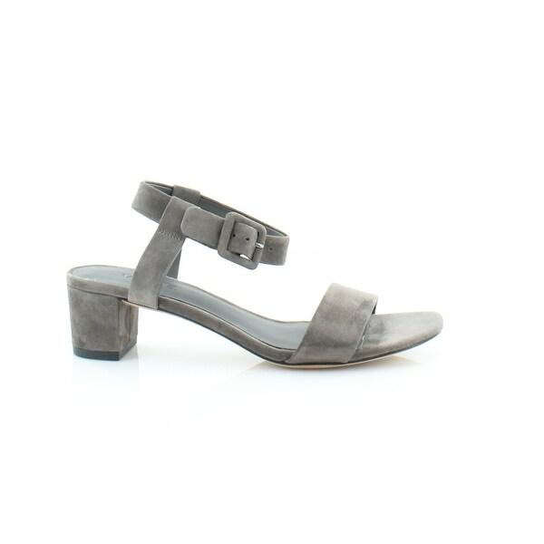 Vince Rena Women's Sandals & Flip Flops Dark Smoke - 5.5