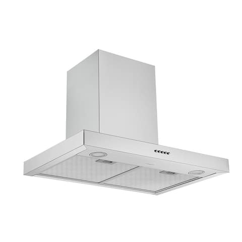 Ancona 30 in. Convertible Wall Mount Rectangular Range Hood in Stainless Steel