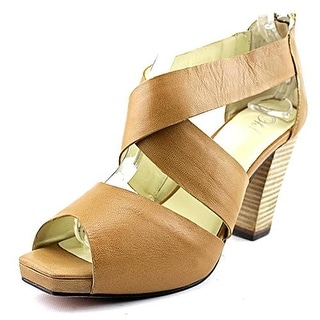 Oh! Womens Heels Leather Pumps