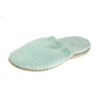 Acorn Womens Spa Support Plush Clog Slippers