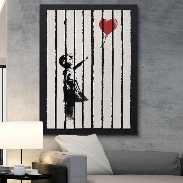 IKONICK Shredded Love Canvas Art