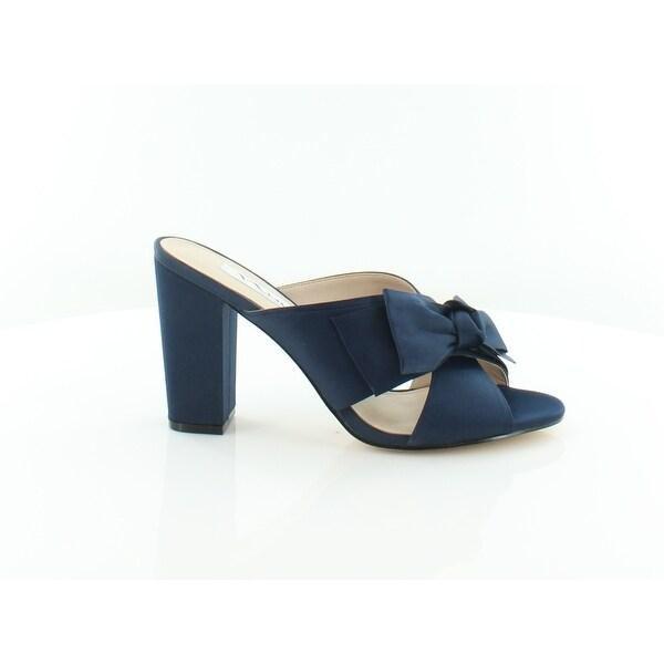 Nina Samina Women's Sandals & Flip Flops New Navy Luster - 8.5