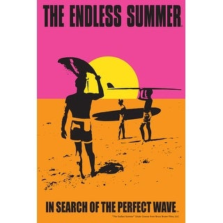 The Endless Summer - Original Movie Poster (Acrylic Serving Tray)