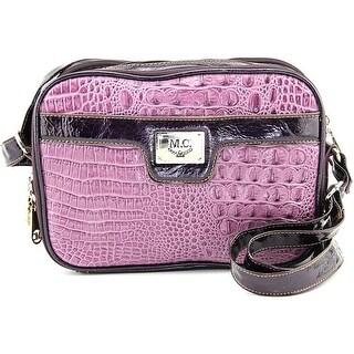 Madi Claire Jasmine Women Leather Purple Messenger