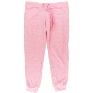 Jenni Womens Juniors French Terry Marled Sweat Pants - XL
